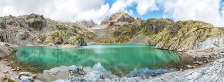 Lac Blanc in Chamonix, France Stock Photography