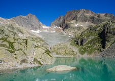 Lac Blanc, France Stock Photo