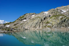 Lac Blanc, France Royalty Free Stock Image