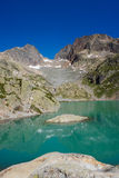 Lac Blanc, France Royalty Free Stock Photo