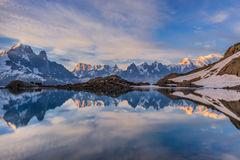 Lac Blanc, Graian Alps, France Stock Images