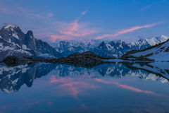 Lac Blanc, Graian Alps, France Stock Photography