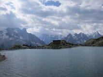 Lac Blanc w lecie Zdjęcie Royalty Free