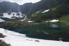 Lac bleu, été 2 Image libre de droits
