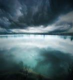 Lac bleu Photos stock