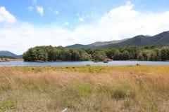 Lac bleu Image stock
