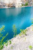 Lac bleu Photo stock