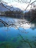 Lac bleu Russie Kabardino-Balkarie Photos libres de droits