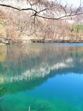 Lac bleu Russie Kabardino-Balkarie Image stock