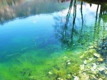 Lac bleu Russie Kabardino-Balkarie Photographie stock