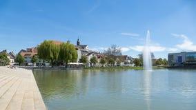 Lac Boeblingen Photographie stock
