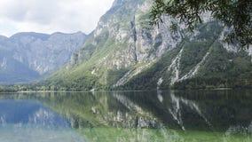 Lac Bohinj image stock