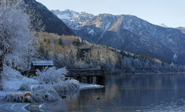 Lac Bohinj Photographie stock libre de droits