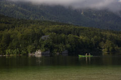 Lac Bohinj Images stock