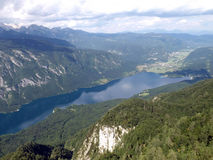 Lac Bohinj Photos stock