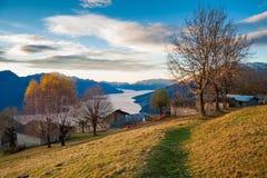 Lac bonjour Images libres de droits
