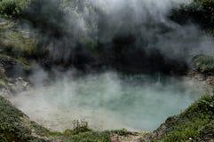 Lac bouillant Photo libre de droits