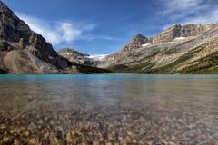 Lac bow Photo libre de droits