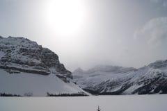 Lac bow Images libres de droits