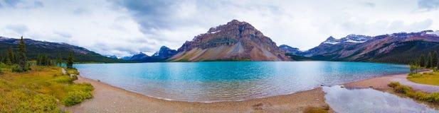 Lac bow, Canada Images libres de droits