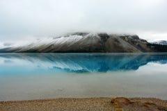 Lac bow dans auguste Image libre de droits