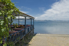 Lac Bracciano, Latium, Italie Photos libres de droits