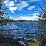 Lac Brampton Ontario heart Photos libres de droits