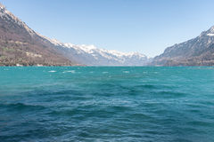Lac Brienz photos libres de droits