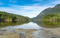 Lac Buntzen Photographie stock libre de droits