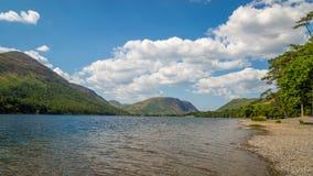 Lac Buttermere dans le secteur de lac Photo stock