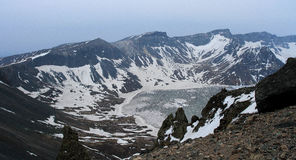 Lac céleste Image libre de droits