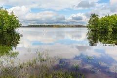 Lac céleste Image stock