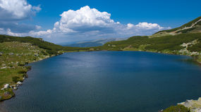 Lac Calcescu Photographie stock