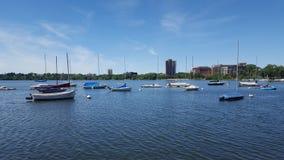 Lac Calhoun Photographie stock libre de droits