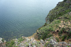 Lac calme Baikal Photographie stock