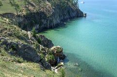 Lac calme Baikal Photo libre de droits