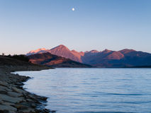Lac Campotosto Photo libre de droits
