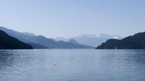 Lac Canada harrison photographie stock libre de droits