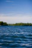Lac canadien en été Image libre de droits