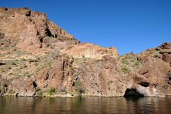 Lac canyon, Arizona Photos stock