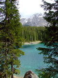 Lac Carezza Photo stock