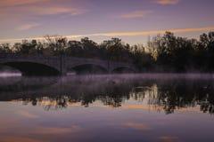 Lac Carnegie dans Princeton photo stock