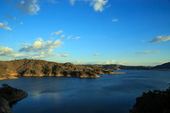 Lac Casitas Image libre de droits