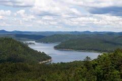 Lac cassé l'Oklahoma bow photographie stock libre de droits
