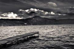 Lac castel gandolfo Photos libres de droits