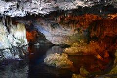 Lac cave Photo libre de droits