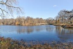 Lac central Park Images libres de droits
