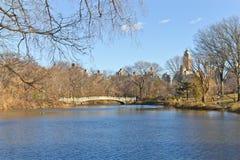 Lac central Park Photo libre de droits