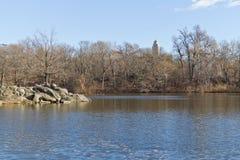 Lac central Park Images stock