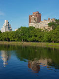 Lac central park, Manhattan New York Images libres de droits